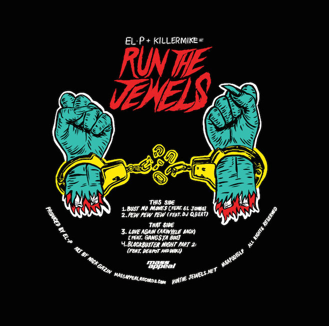 "Run the Jewels - Run the Jewels (Record Store Day 12"")"