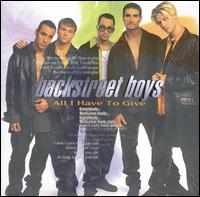 Backstreet Boys - All I Have to Give [Japan CD Single #2]