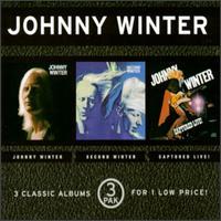 Johnny Winter - Johnny Winter/Second Winter/Captured Live!