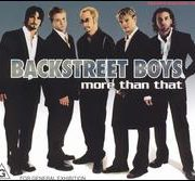 Backstreet Boys - More Than That [Import CD]