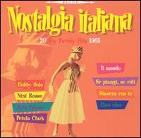 Various Artists - Nostalgia Italiana: 20 Top Twenty Hits