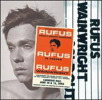 Rufus Wainwright - Rufus Does Judy at Carnegie Hall